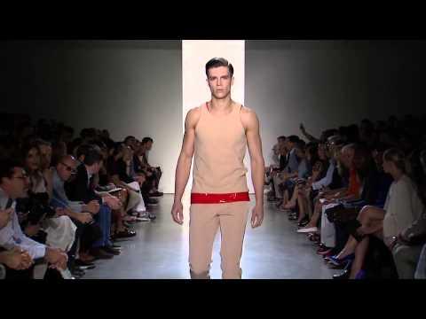 Calvin Klein Collection Men's Spring 2015 Runway Show - презентация одежды Calvin Klein