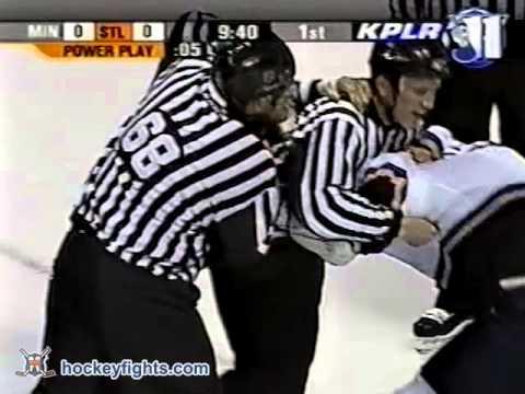 Keith Tkachuk vs. Willie Mitchell