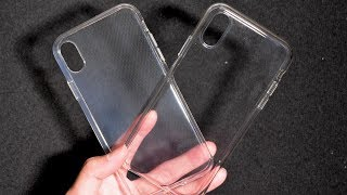 iPhone XR Clear Case vs Cheap Generic Case / First Impressions