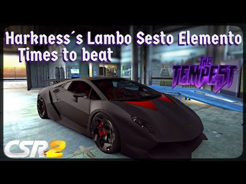 CSR2 Beating Tempest 3 T5 Boss Harkness challenge without