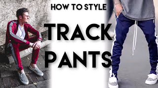 3 WAYS TO STYLE TRACK PANTS | Mens Fashion | Parker York Smith
