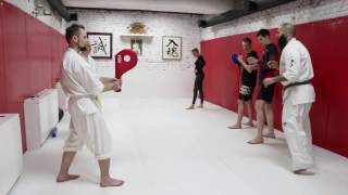 Karate in Mad Max Dojo - Alejandro Navarro