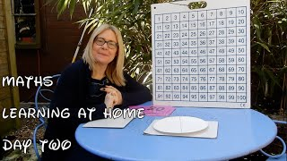 Day 2 MATHS - Reception: Learning From Home