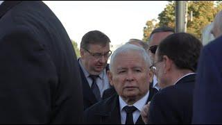 Prezesowi Kaczyńskiemu puściły nerwy. 137 miesięcznica smoleńska.