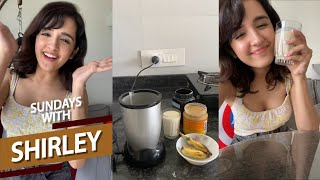 Sundays With Shirley - Episode 1|| Banana and Peanut Butter Smoothie