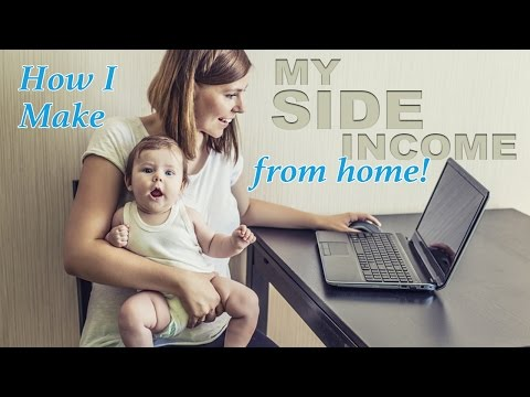 11 Ways Moms Can Earn a Side-Income from Home