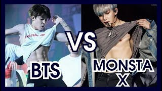 BTS VS MONSTA X