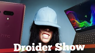 HTC U12 PLUS, Youtube Premium в России, Razer Blade | Droider Show #350 - Video Youtube