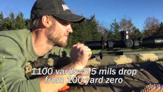 GA Precision PRS Competition Rifle in 6mm Creedmoor, 1000+ Yard Shooting