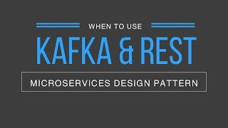 Microservices Design Pattern - When to use Kafka and REST? | Tech Primers