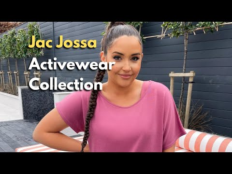 Jac Jossa 'Activewear' collection is Live Now