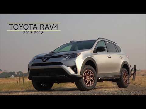 Lifting the Toyota Rav 4, Highlander and Nissan Rogue