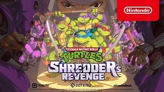 Nintendo Teenage Mutant Ninja Turtles: Shredder's Revenge - Announcement Trailer - Nintendo Switch anuncio