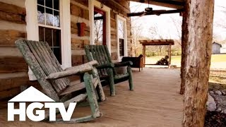 Before And After: A Log Cabin Renovation In Tennessee - HGTV