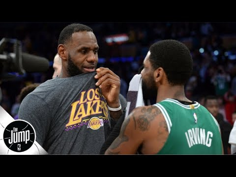 Kyrie Irving should 'team up with LeBron James,' choose Lakers over Nets - Tracy McGrady | The Jump