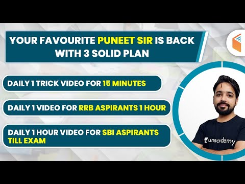 All Banking Exams Reasoning YouTube Free Classes Schedule | Puneet Sir is Back!