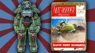Fallout 4 - Hot Rod Shark Scheme Power Armor Paint Guide