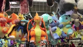 Comic Con Dortmund 2016 - Pokemon Karten und Plüsch deutsch / german