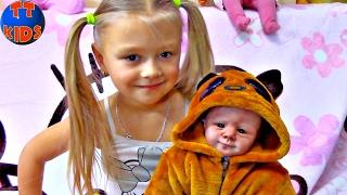 Little Girl Crying Silicone Reborn Baby Doll | Силиконовая Живая Кукла Реборн Видео для детей