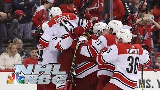 NHL Stanley Cup Playoffs 2019: Hurricanes vs. Capitals | Game 7 Highlights | NBC Sports
