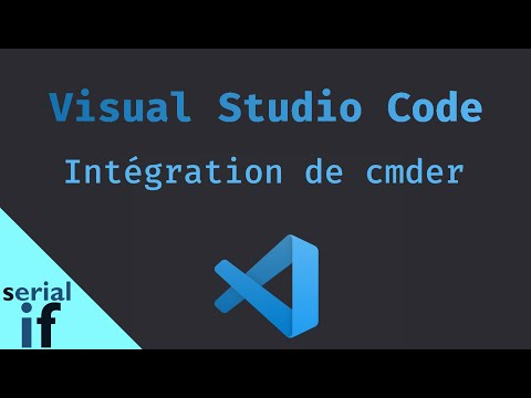 Visual Studio Code - Intégrer Cmder comme terminal par défaut