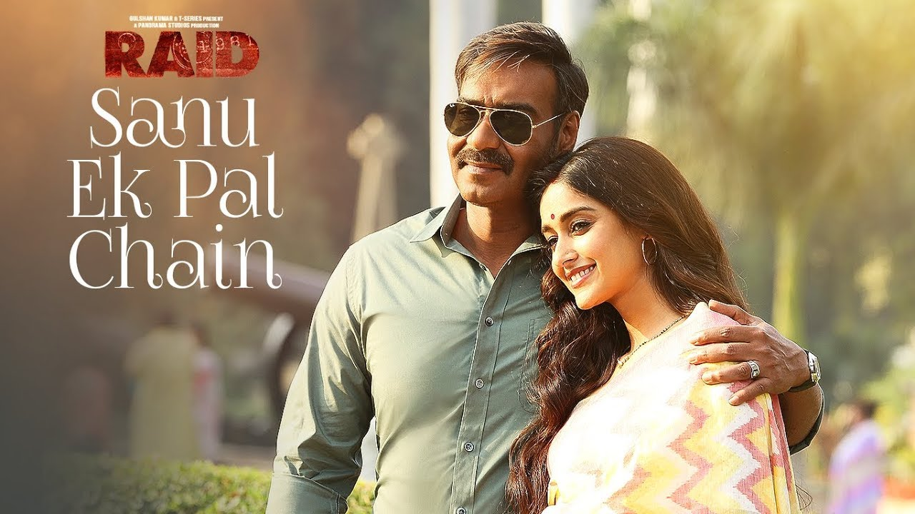SANU EK PAL CHAIN Hindi lyrics