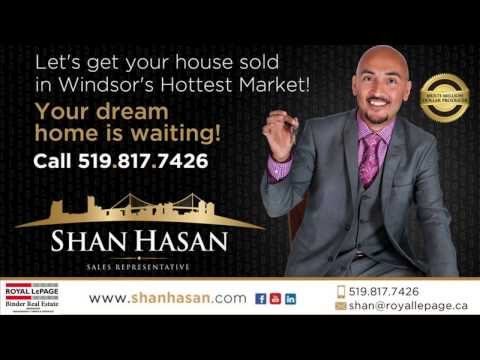 SOLD SOLD! 1651 Balfour - EAST WINDSOR - SHAN HASAN