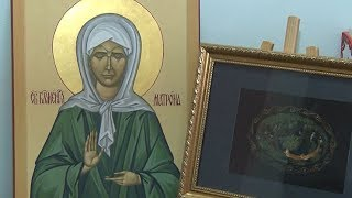 Греческий монастырь в Калифорнии расписывают кубанские иконописцы
