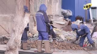 Жители поселка Шахан боятся возвращаться в свои квартиры