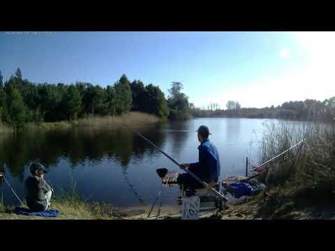 Pesca francesa na Lagoa de Pataias