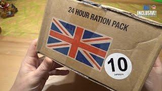 СухПай ИРП Британской Армии. Суточный рацион питания вар.10