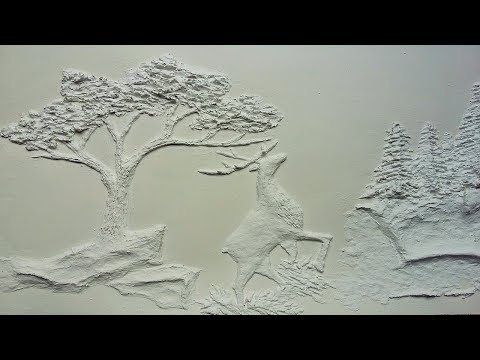 How to Make Embossed Painting