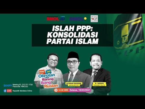 Obrolan Bareng Bang Ruslan • Islah PPP: Konsolidasi Partai Islam, bersama Achmad Baidowi dan M. Qodari