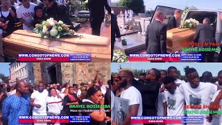 BELGIQUE Sous Le Choc: Enterrement De BRAVEL BOSSEMBA, Jeune Rappeur Congolais Décédé à L'Accident