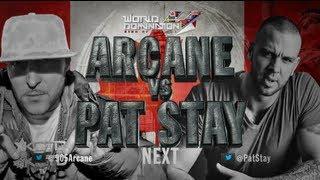 KOTD - Rap Battle - Pat Stay vs Arcane (Title Match)