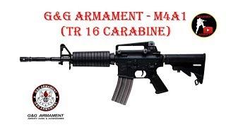 [ОБЗОР] G&G ARMAMENT - M4A1 TR16 CARABINE AEG airsoft (страйкбол)