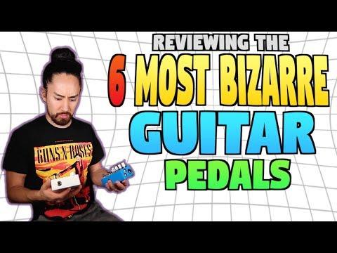 The 6 Most Bizarre Guitar Pedals - any iOS clones