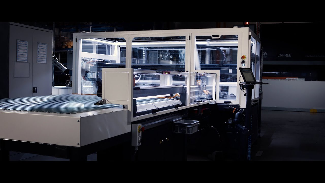 Automatisierte Gehäuse- und Tragschienenbestückung bei Weidmüller