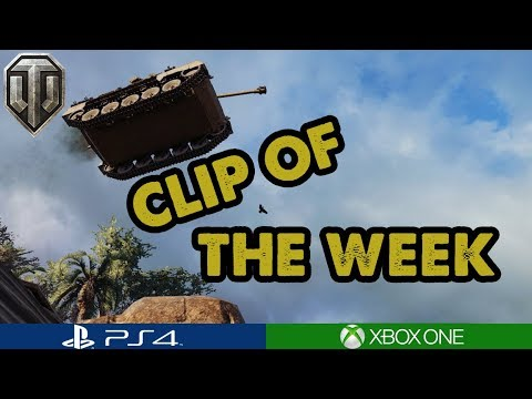 CLIP OF THE WEEK #10 - World of Tanks Console