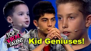 The SMARTEST KID AUDITIONS from AROUND THE WORLD!