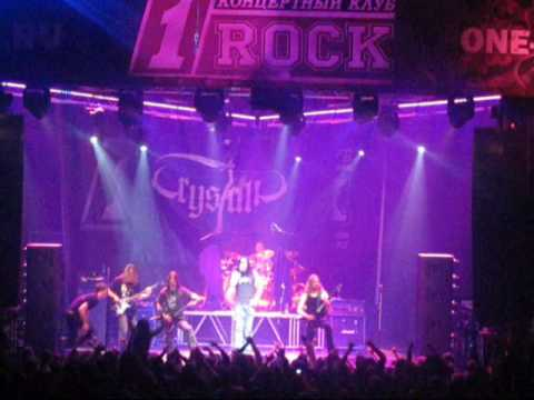 Crystalic - Born to Die (Live in 1Rock, Moscow, Russia 11.12. ... online metal music video by CRYSTALIC