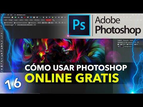 PHOTOSHOP GRATIS ONLINE | Alternativa sin instalación