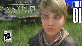 【SKYRIM 200+ MODS】Nord Gameplay Walkthrough Part 1 [PC - HD]