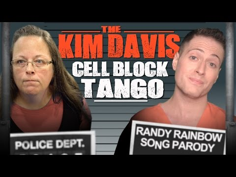 The KIM DAVIS Cell Block Tango - Randy Rainbow
