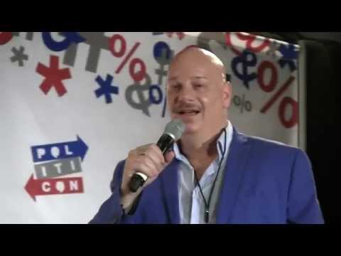 'Roasts' comedian, Jeff Ross, cracks-up PolitiCon '15 audience (full routine)