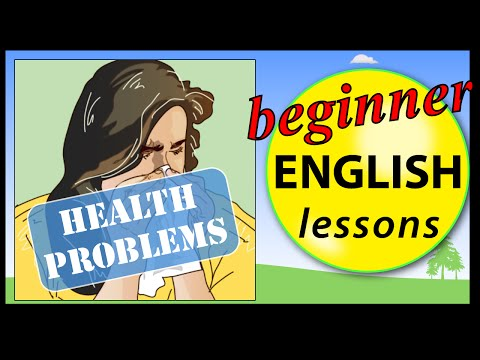 Health Problems in English
