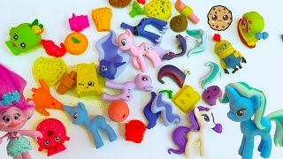Eraser Puzzles Surprise Blind Bags, My Little Pony, Food, Shopkins + More with Poppy Trolls