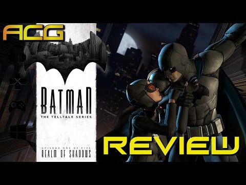 Batman: The Telltale Series Episode 1 :Realm Of Shadows Review - YouTube video thumbnail