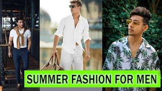 Summer Fashion Tips For Men  In Hindi   SAYAN