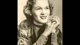 Jean Shepard - **TRIBUTE** - You're Calling Me Sweetheart Again (1955).